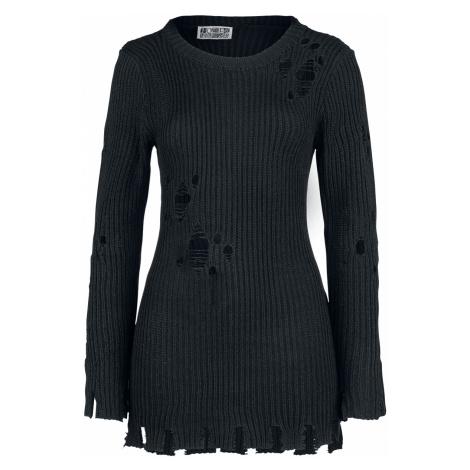 Poizen Industries - Alora Top - Girls Sweater - black
