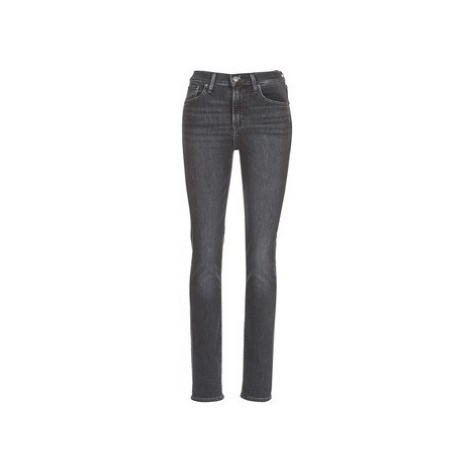 Levis 724 HIGH RISE STRAIGHT women's Jeans in Black Levi´s