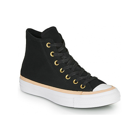 Converse CHUCK TAYLOR ALL STAR VACHETTA LEATHER HI women's Shoes (High-top Trainers) in Black