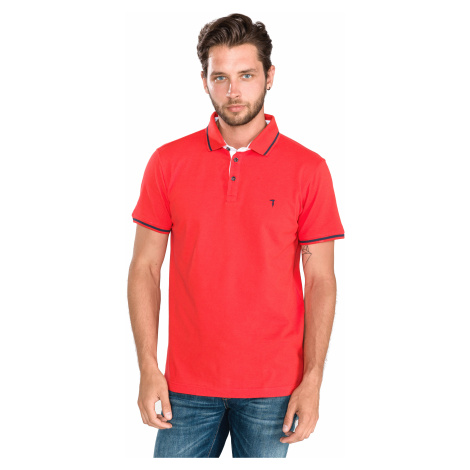 Trussardi Jeans Polo Shirt Red