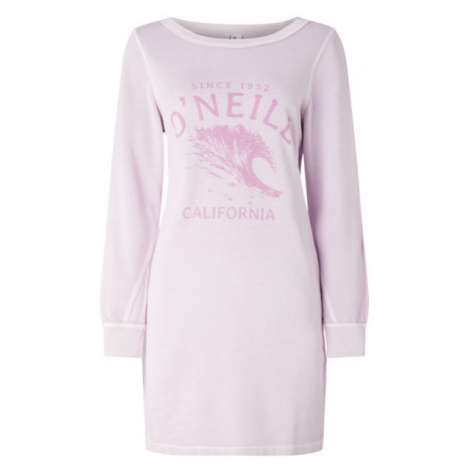 O'Neill LW SWEAT DRESS light pink - Women's dress