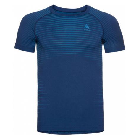 Odlo BL TOP CREW NECK S/S PERFORMANCE LIGHT blue - Men's functional T-shirt