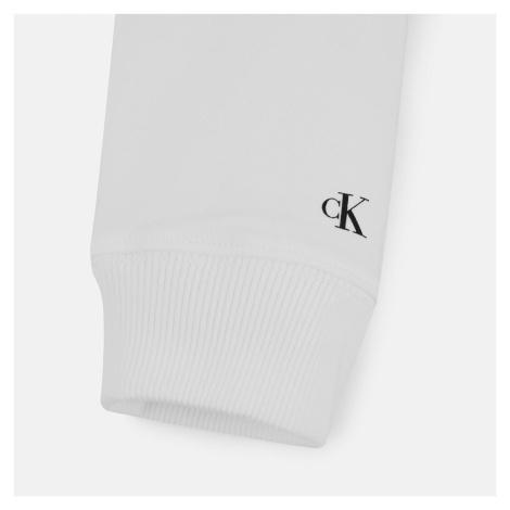 Calvin Klein Institutional Logo Sweatshirt - Bright White
