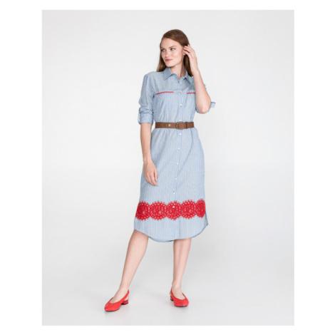 Pinko Fesa Dress Blue