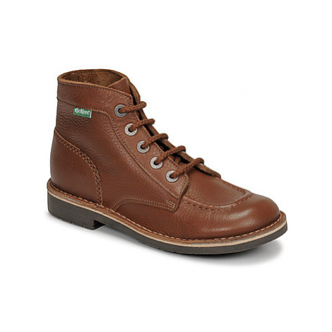 Kickers KICK COL women's Mid Boots in Brown