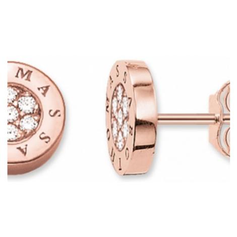 Ladies Thomas Sabo Sterling Silver Stud Earrings H1820-416-14