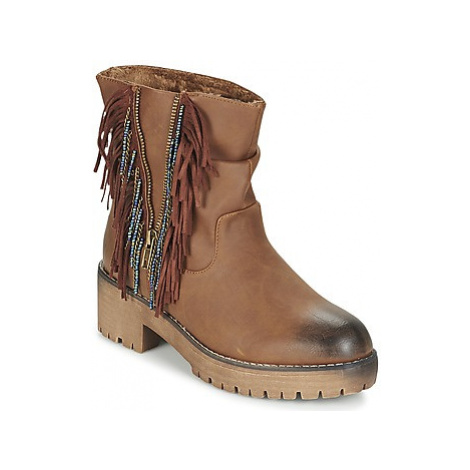 Coolway BARINA women's Mid Boots in Brown