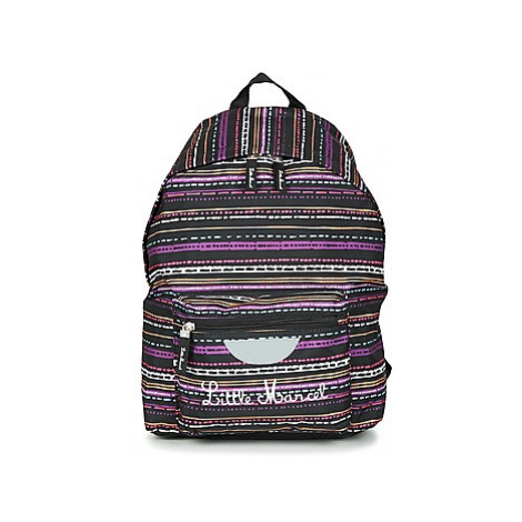 Little Marcel SATURNIN girls's Children's Backpack in Black