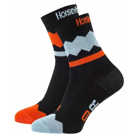 socks Horsefeathers Fizz - Red Orange - men´s