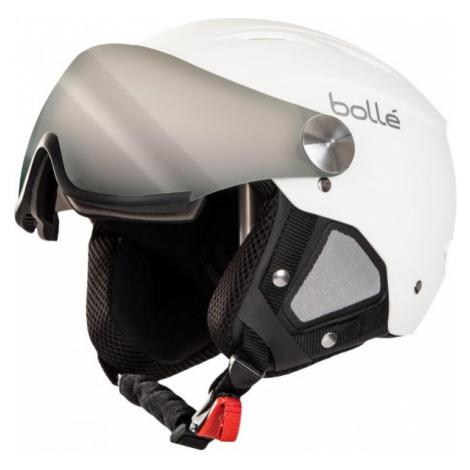 Bolle BACKLINE VISOR +1 white - Alpine Ski Helmet