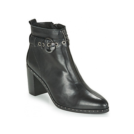 Philippe Morvan BAXEL3 V1 MAIA women's Low Ankle Boots in Black