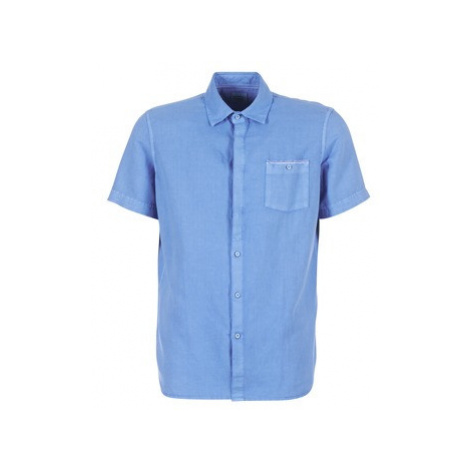 Oxbow K1CANOSIO men's Short sleeved Shirt in Blue