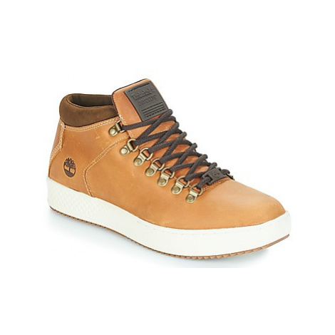 Timberland CityRoam Cup Alpine Chk men's Shoes (High-top Trainers) in Brown