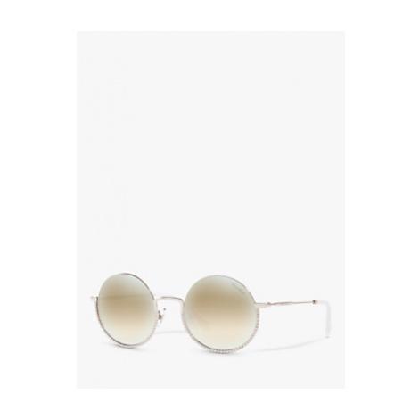 Miu Miu MU 69US Women's Embellished Round Sunglasses