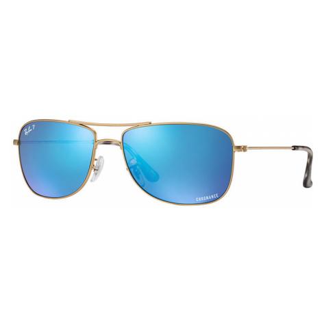 Ray-Ban Rb3543 chromance Unisex Sunglasses Lenses: Blue Polarized, Frame: Gold - RB3543 112/A1 5