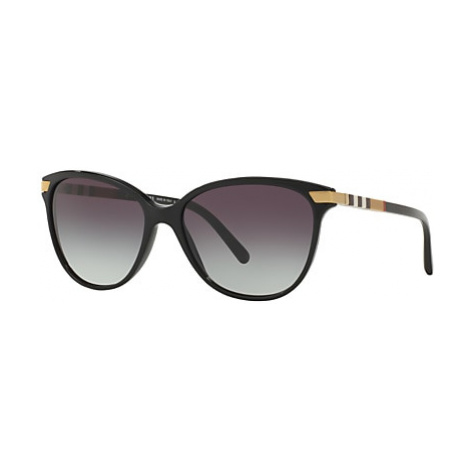 Burberry BE4216 Cat's Eye Gradient Sunglasses, Black