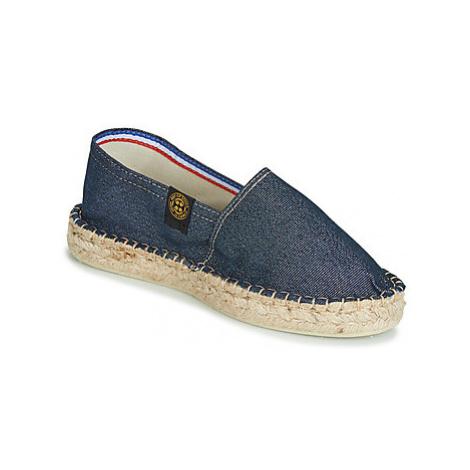 Art of Soule DOUBLE SEMELLE women's Espadrilles / Casual Shoes in Blue