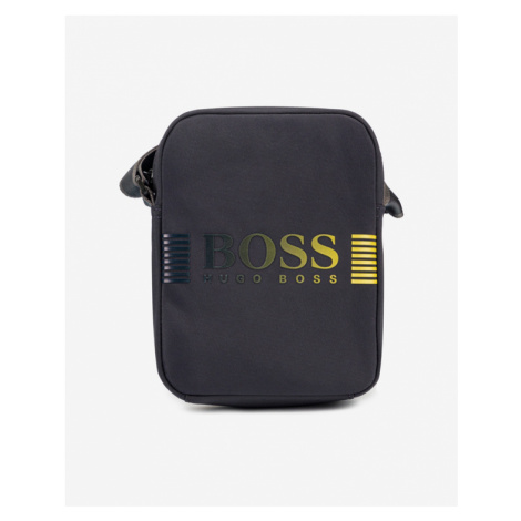 BOSS Pixel DD Cross body bag Blue Hugo Boss