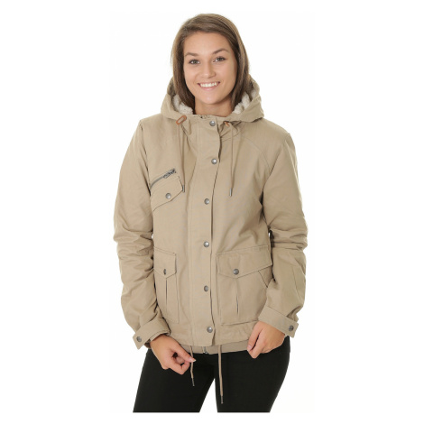 jacket Volcom Walk On By - Khaki - women´s