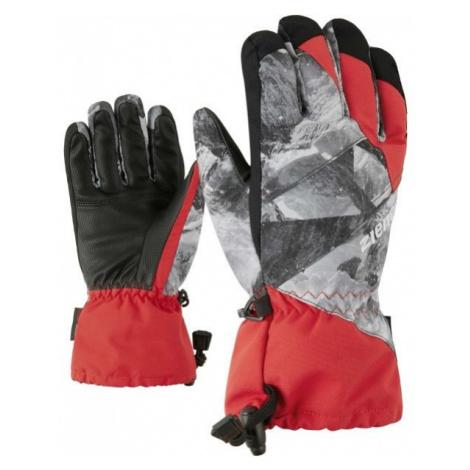 Ziener AGIL AS JR red - Kids' gloves