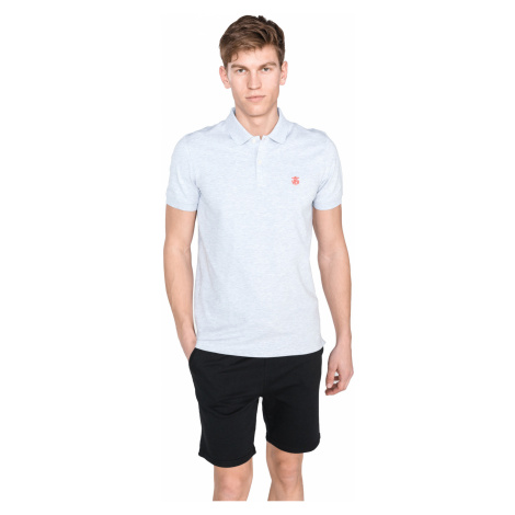 SELECTED Aro Polo T-shirt Grey