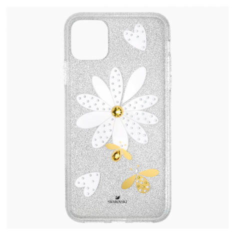 Eternal Flower Smartphone Case with Bumper, iPhone® 11 Pro Max, Light multi-coloured Swarovski