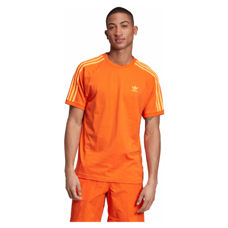 adidas Originals 3-Stripes T-shirt Orange