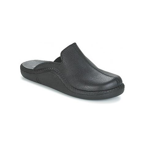 Romika Mokasso men's Slippers in Black