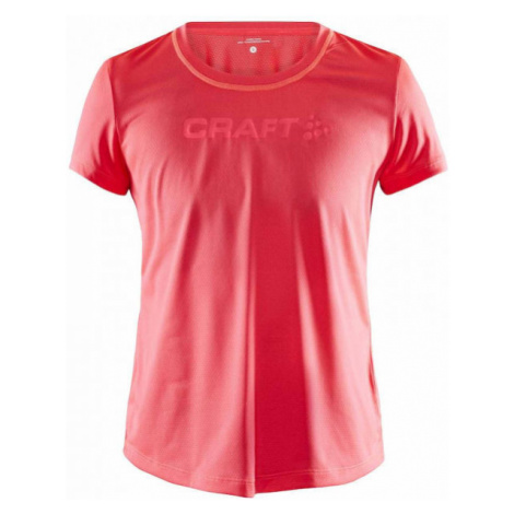 Craft ADV ESSENCE MESH S red - Women's functional T-shirt