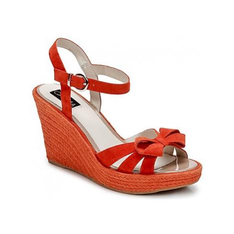 C.Petula SUMMER women's Sandals in Orange