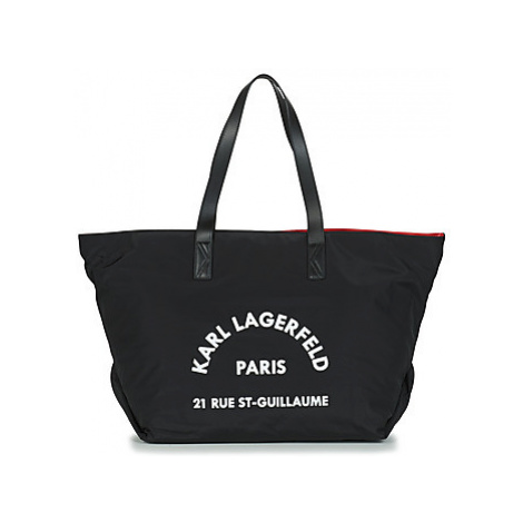 Karl Lagerfeld K/KARL ST GUILLAUME BIG TOTE women's Shoulder Bag in Black
