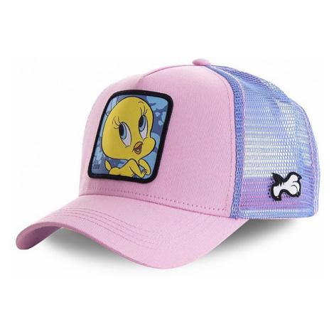 cap Capslab Looney Tunes Trucker - Tweety/Pink - women´s