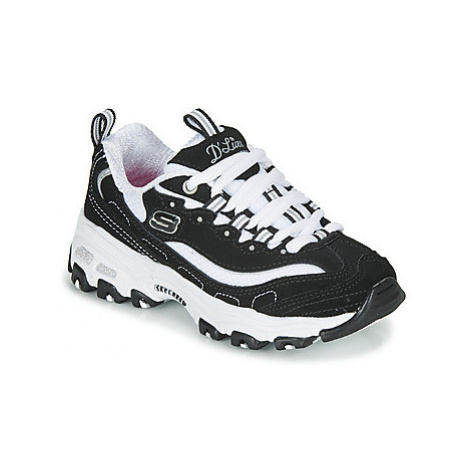 Skechers D'LITES girls's Children's Shoes (Trainers) in Black
