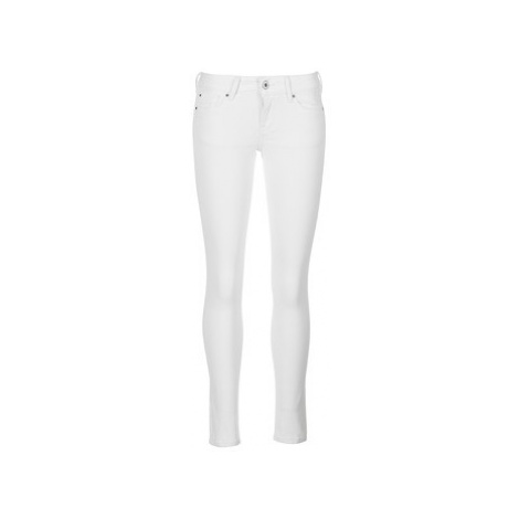 Pepe jeans SOHO women's Trousers in White