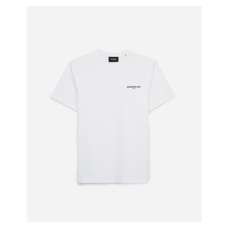 The Kooples - White T-shirt with breast logo - MEN