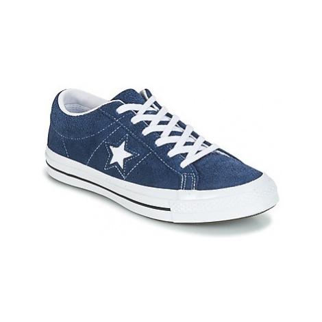 Converse One Star women's Shoes (Trainers) in Blue