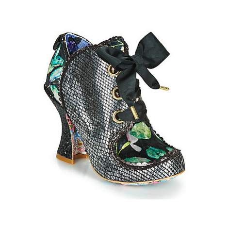 Irregular Choice BARONESS women's Low Ankle Boots in Black