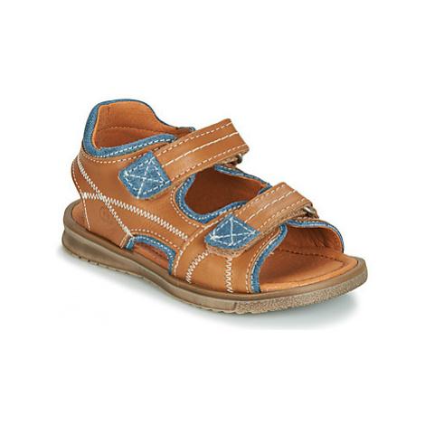 Citrouille et Compagnie JOULOU boys's Children's Sandals in Brown
