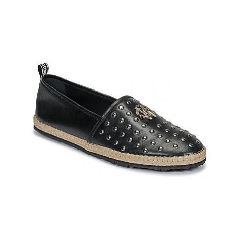 Roberto Cavalli 6664 men's Espadrilles / Casual Shoes in Black