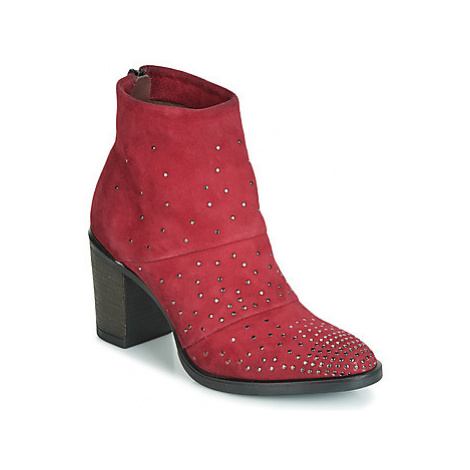 Metamorf'Ose FALCAO women's Low Ankle Boots in Red