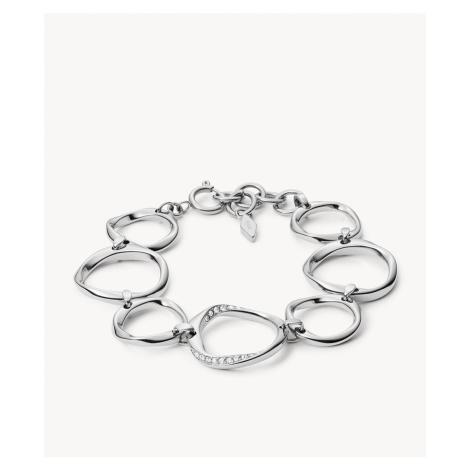 Fossil Women's Twist Steel Bracelet - Silver