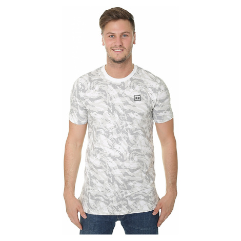 T-Shirt Under Armour Aop Sportstyle - 100/White/Black