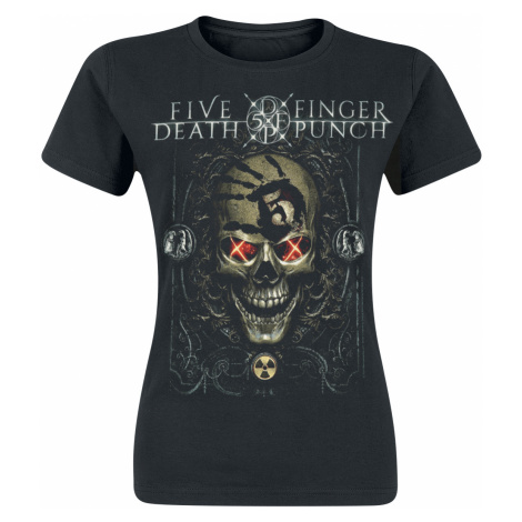 Five Finger Death Punch - Iron Skull - Girls shirt - black