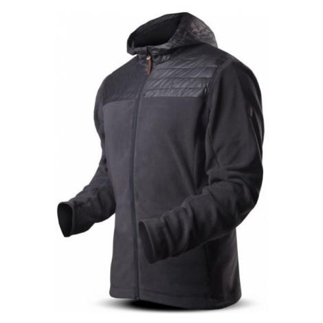 TRIMM ROTT dark gray - Men's fleece jacket