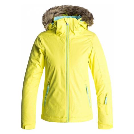jacket Roxy Jet Ski Solid - YFK8/Lemon Tonic/Gana Emboss