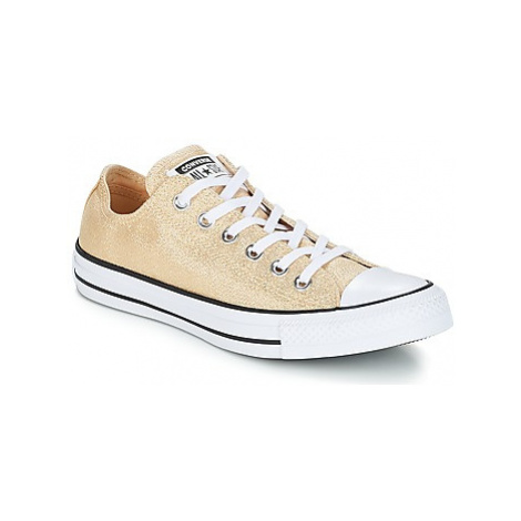 Yellow women's canvas trainers