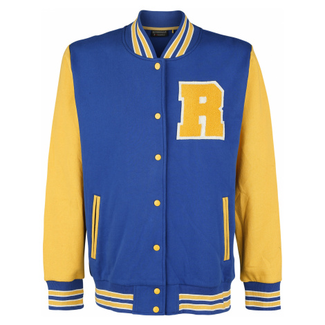 Riverdale - College - College Jacket - blue-yellow
