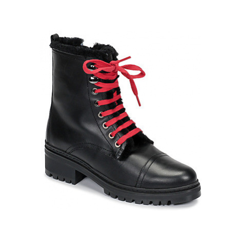 Unisa IRACHE women's Mid Boots in Black