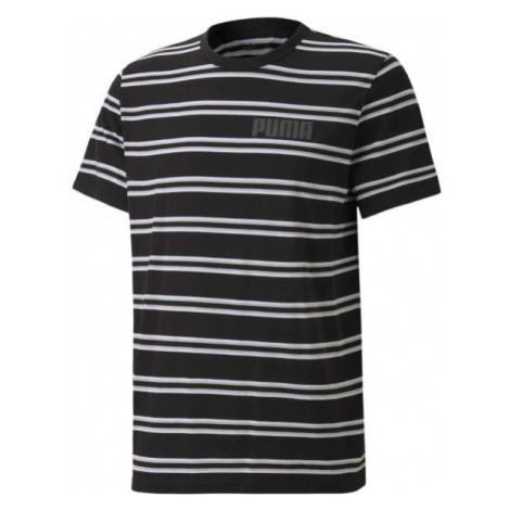 Puma MODERN BASICS STRIPED TEE - Men's T-shirt