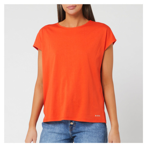 BOSS Hugo Boss Women's Tesarah Short Sleeve Top - Bright Orange